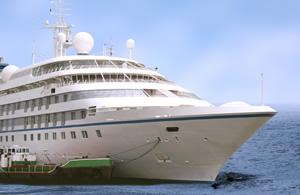 Holiday on cruise ship