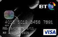 BT credit card