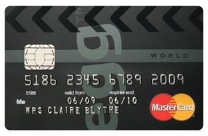 Egg Money World credit card
