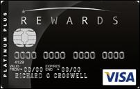MBNA Rewards credit card