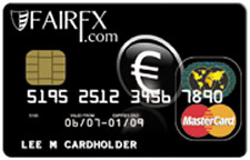 FairFX Prepaid Currency Card