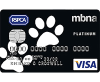 RSPCA credit card