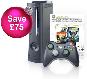 Xbox 360 console package