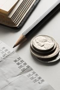 Paying bills direct debit standing order
