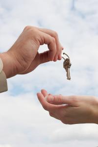 House sold, handing over keys
