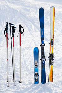 Skiing Travel Money