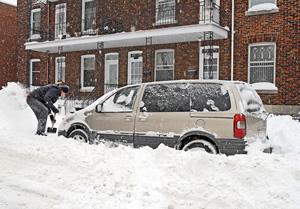 Driving in winter hazardous conditions