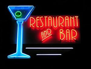 Restaurant Bar Neon Sign